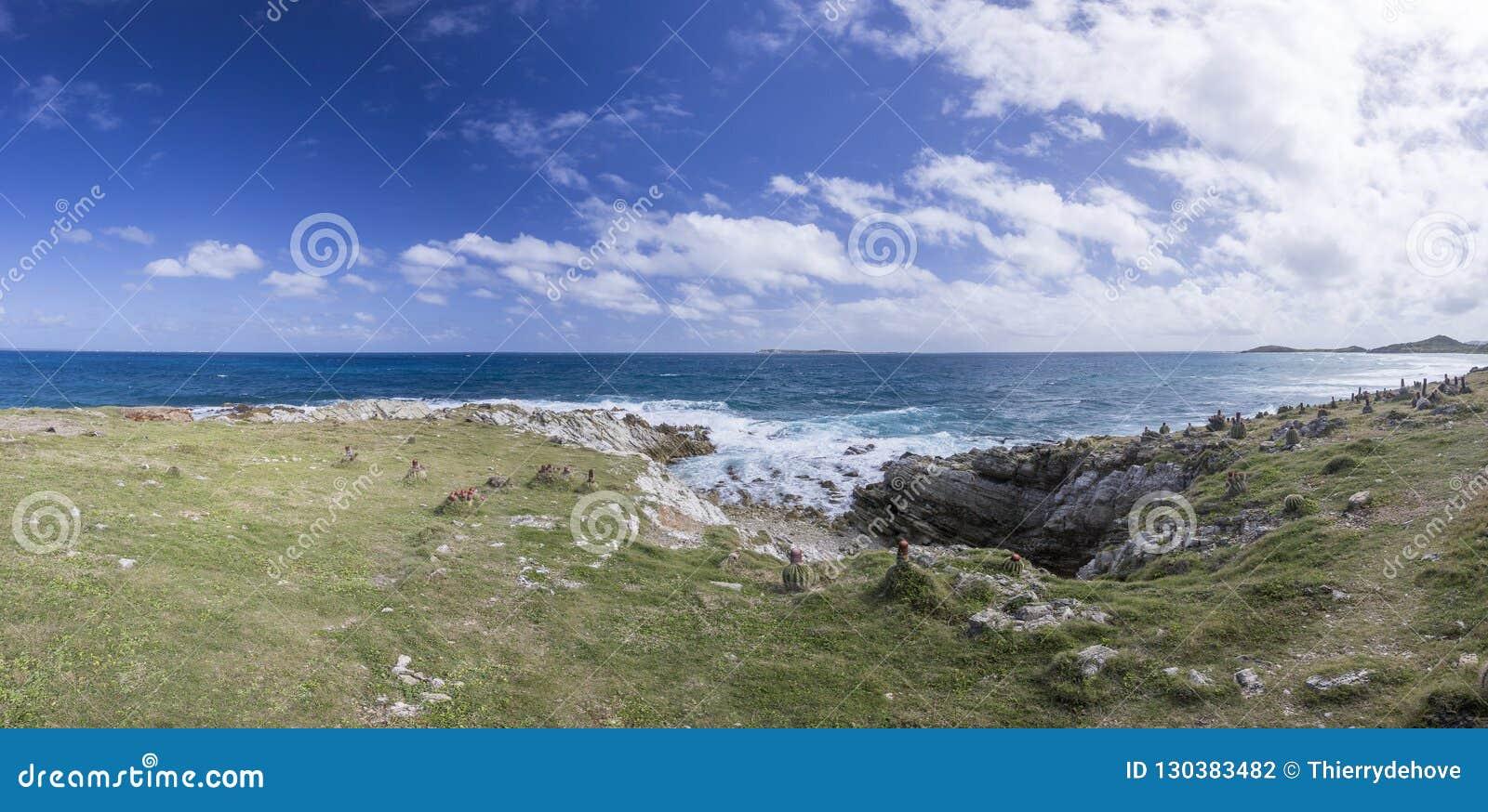 全景圣马丁,荷属圣马丁:加勒比海滩