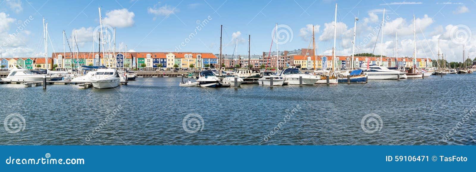 全景港口赫勒富茨劳斯,荷兰