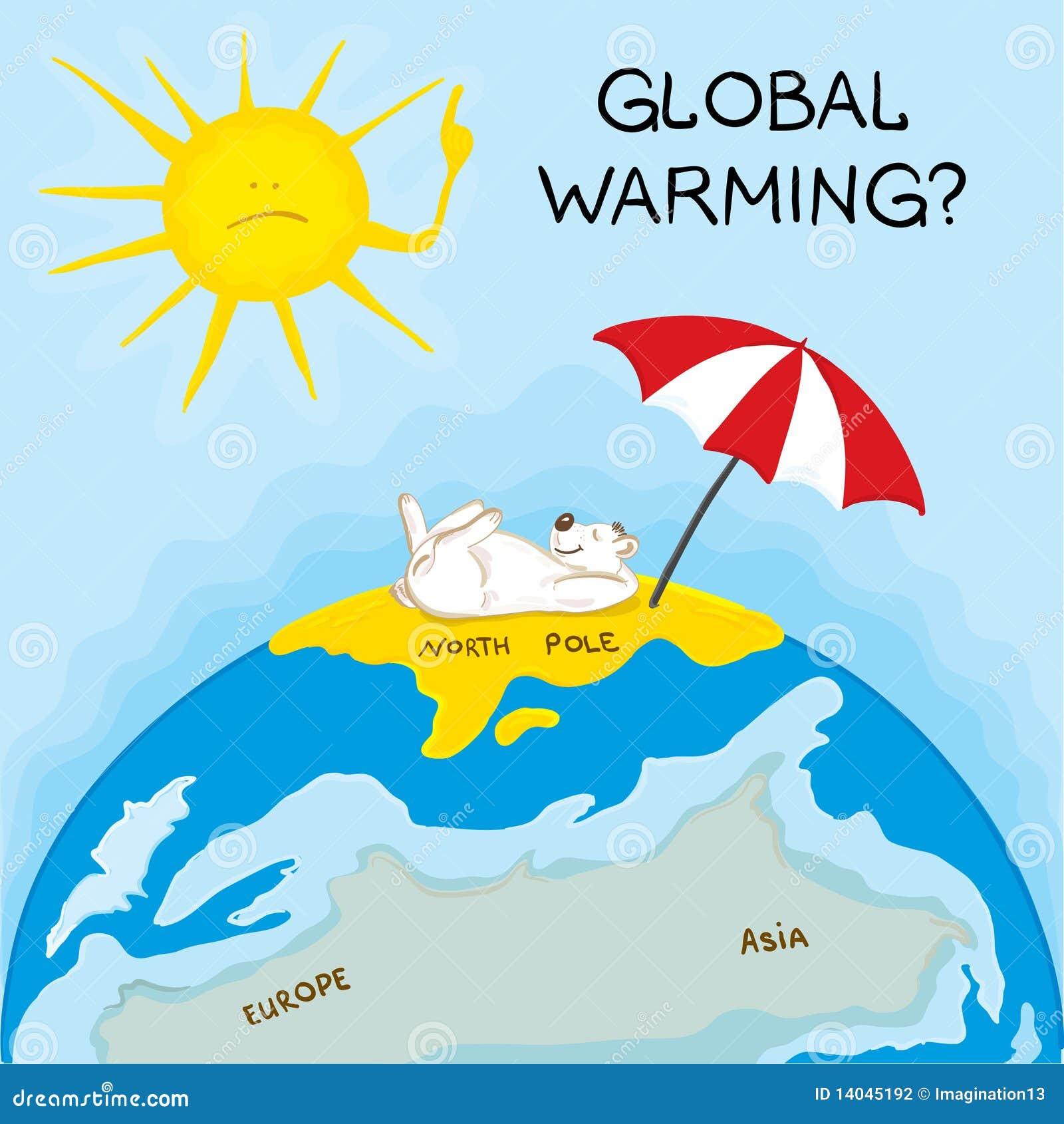 全球气候变暖英文_个人如何防止全球变暖英文_全球气温变暖的原因