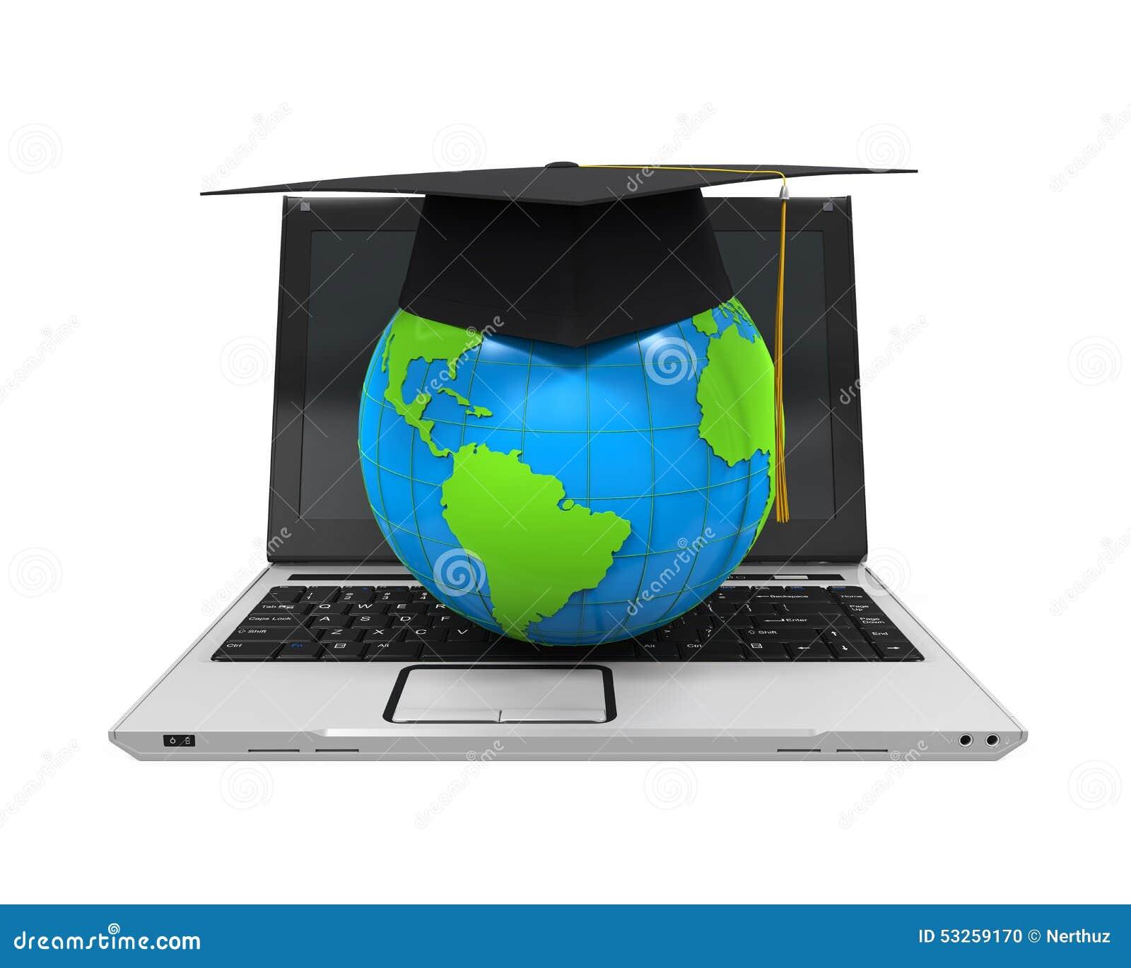 全球性网上教育例证
