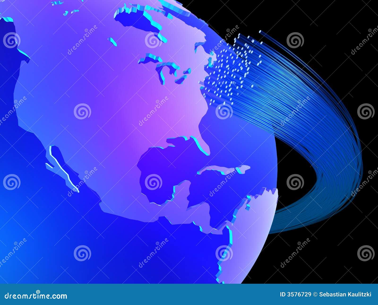 全球的通信