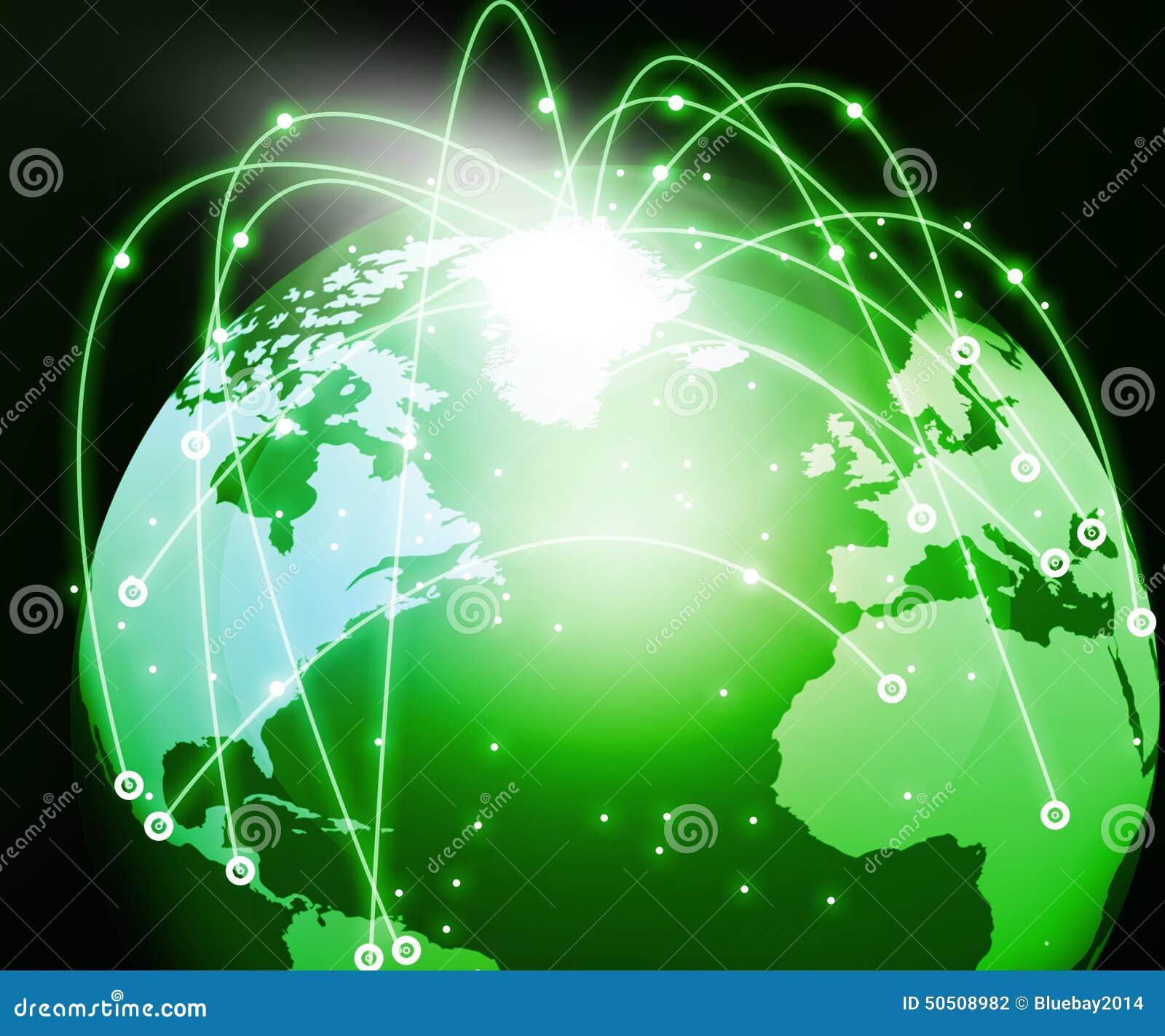 库存照片: 全球网络连接图片