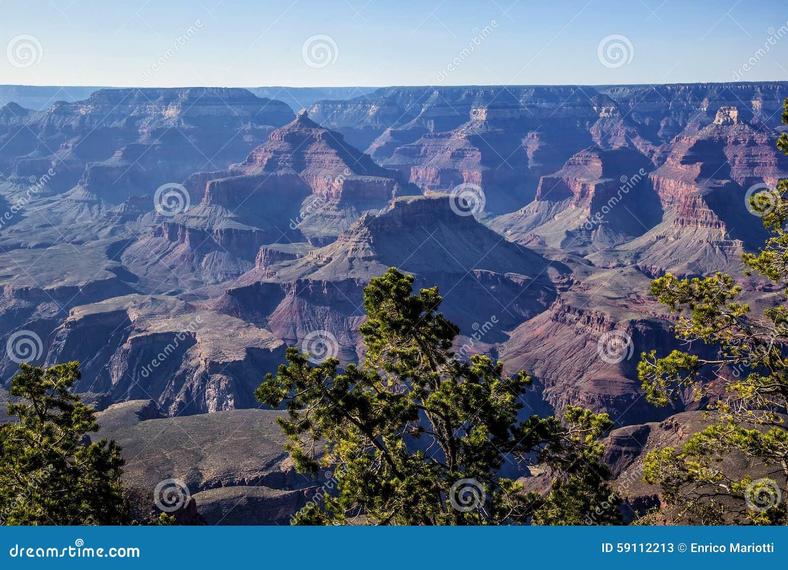 全部亚利桑那的峡谷