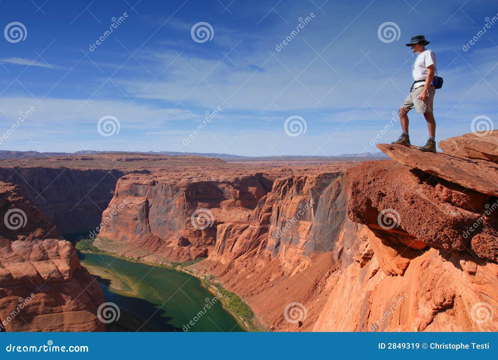 全部的峡谷俯视