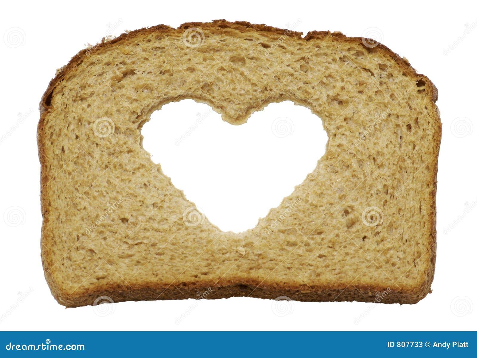 全部面包健康重点的麦子