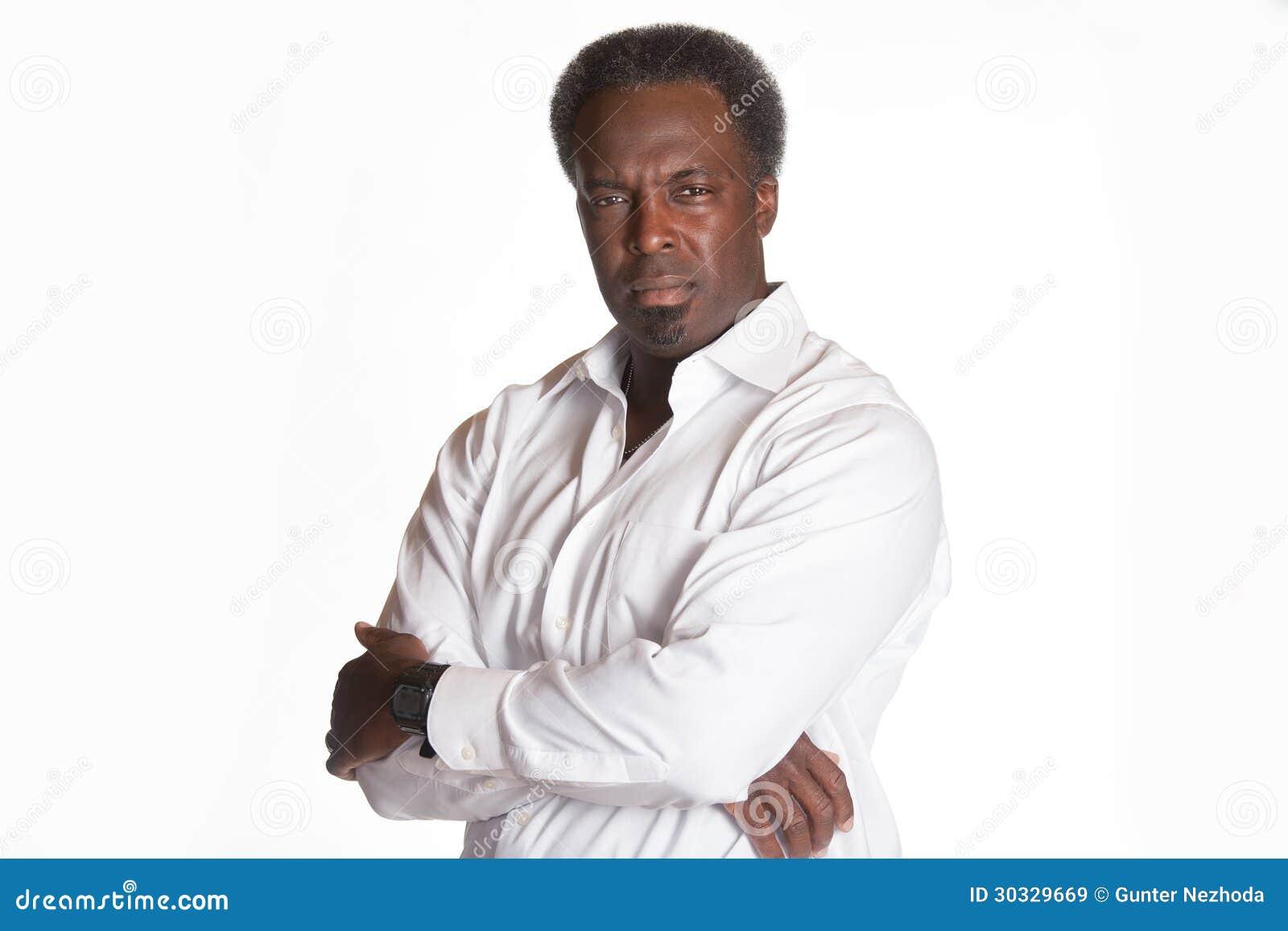 公上司非裔美国人的画象