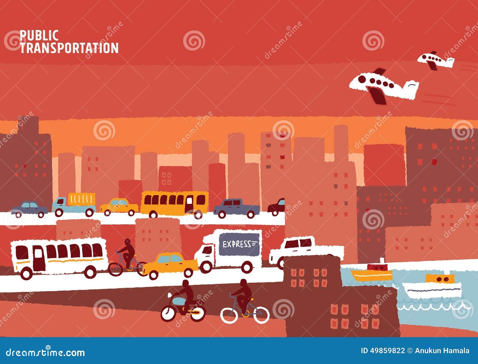 公共交通,信息图表城市