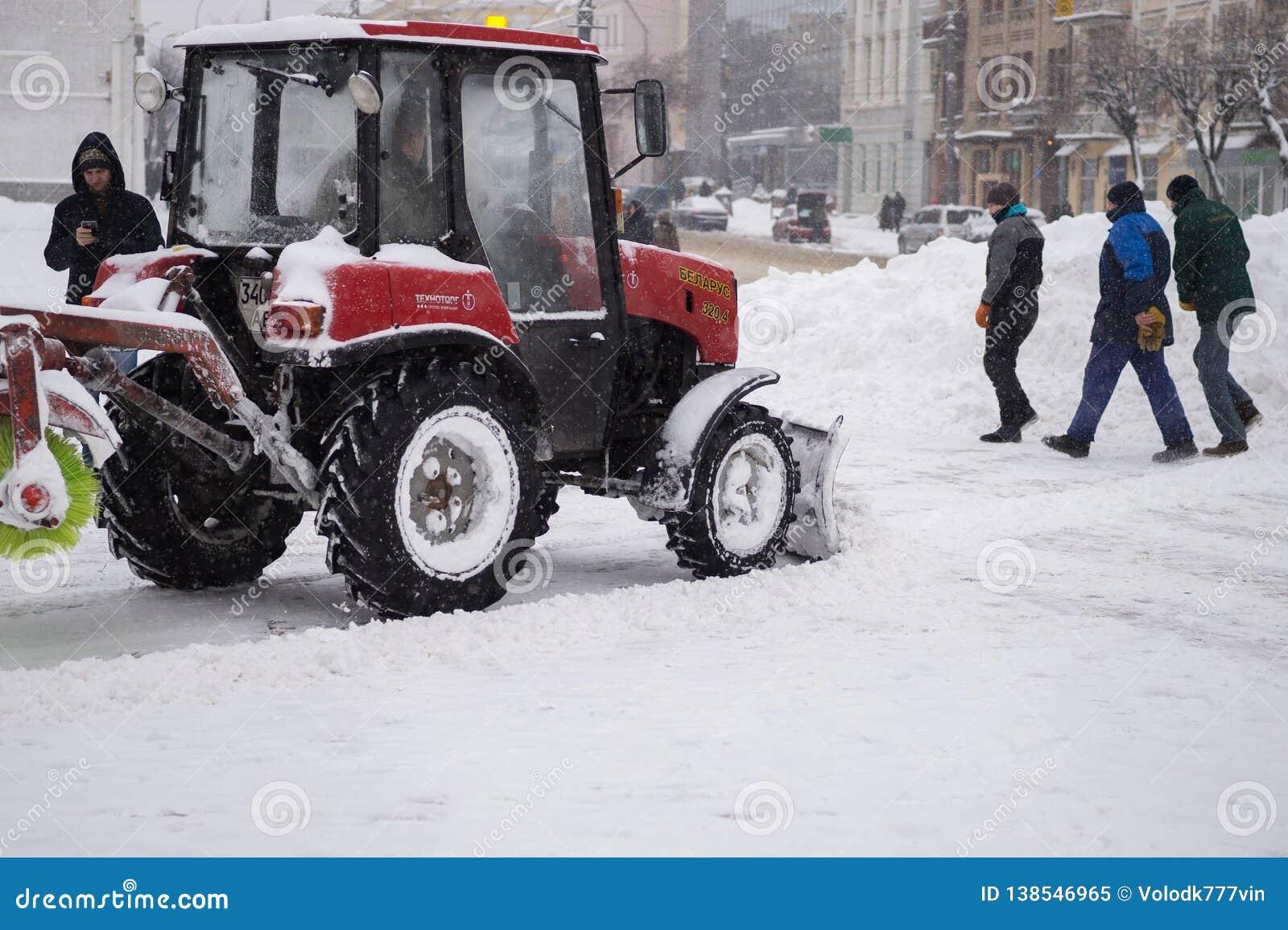 公共服务清除雪