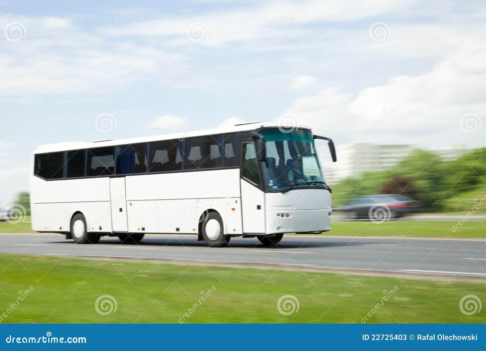 公共汽车图象摇摄浏览