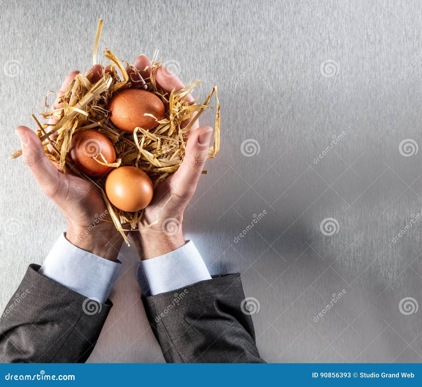 公司人递显示环境社会责任感的有机鸡蛋