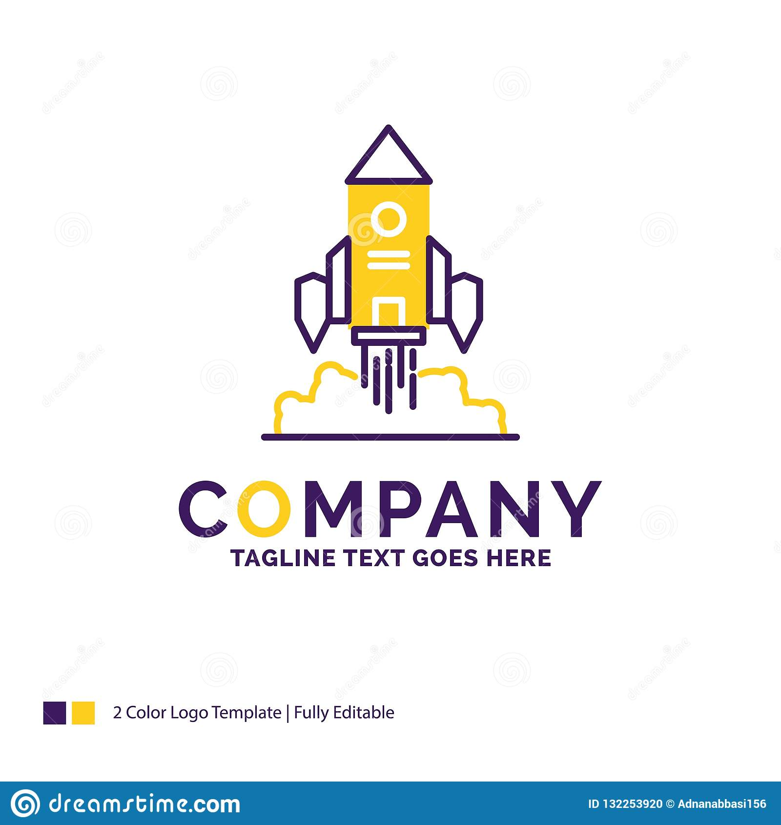 公司名称火箭队的,太空飞船,起动,发射商标设计