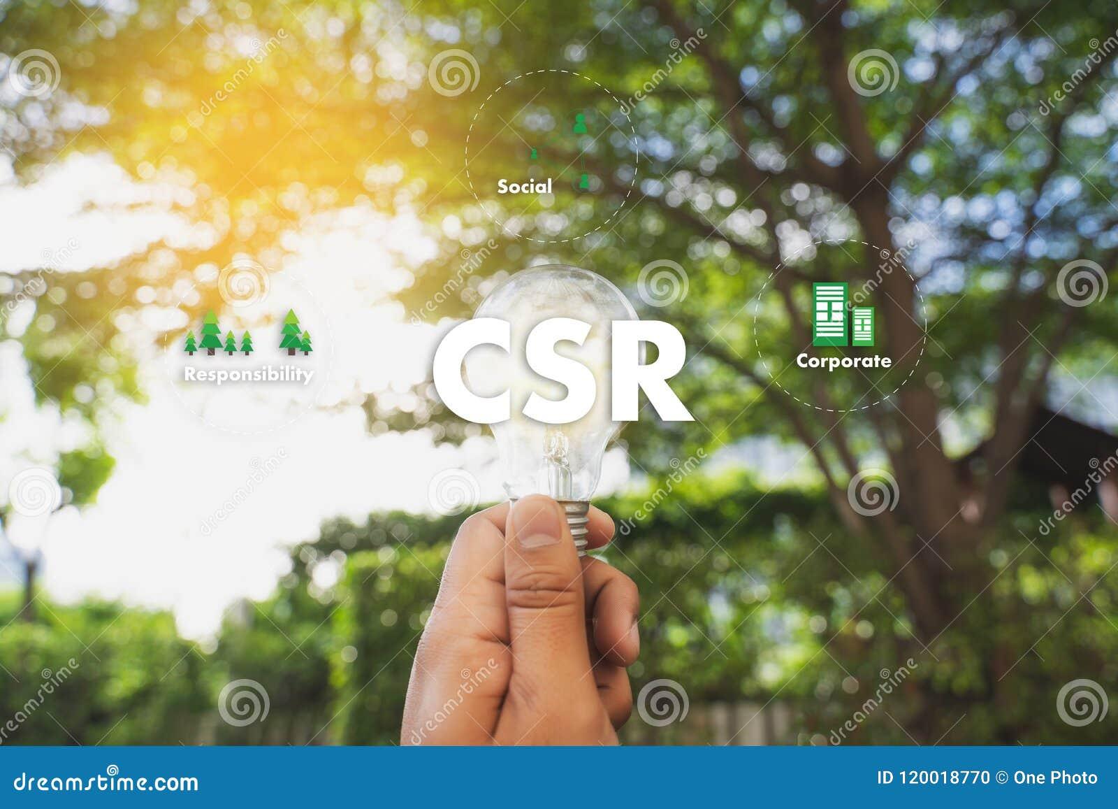 公司的社会责任CSR和持续力Responsib