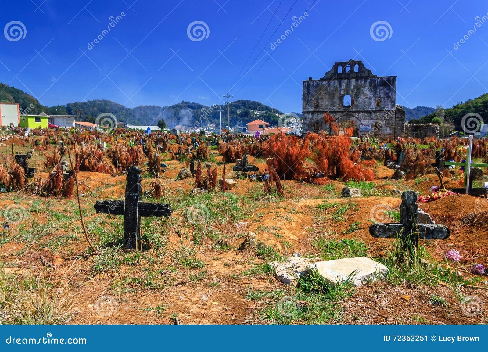 公墓, Chamula,墨西哥