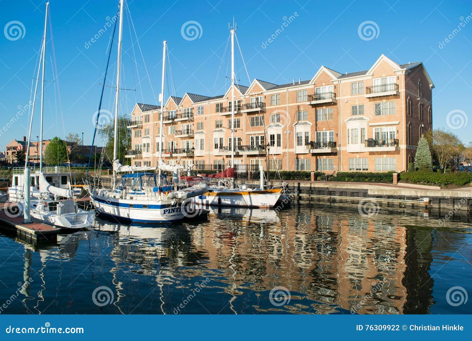 公寓在内在港口地区在巴尔的摩,马里兰
