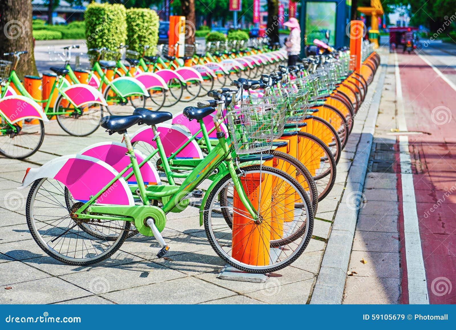 公开自行车系统