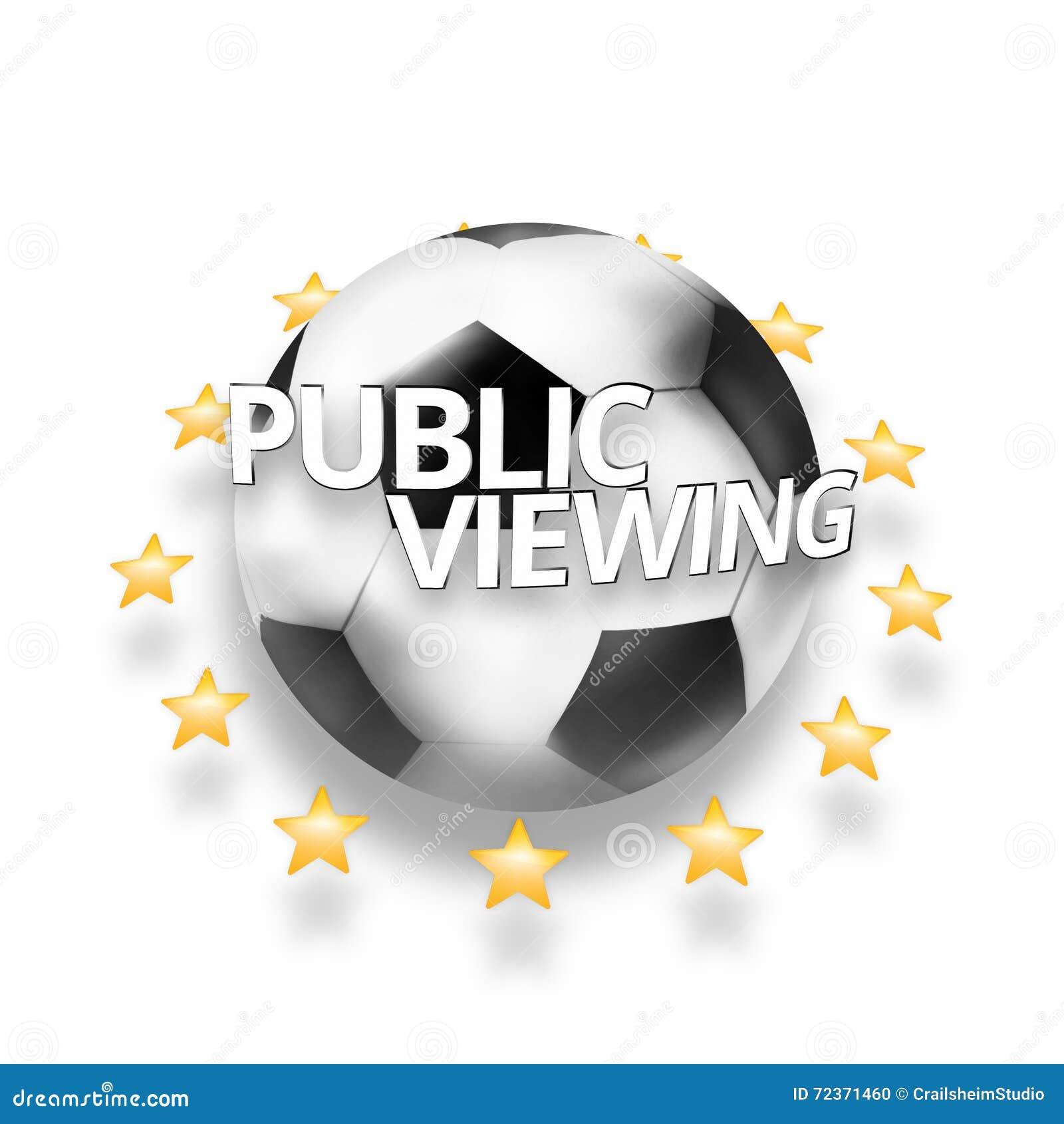 公开观察橄榄球足球