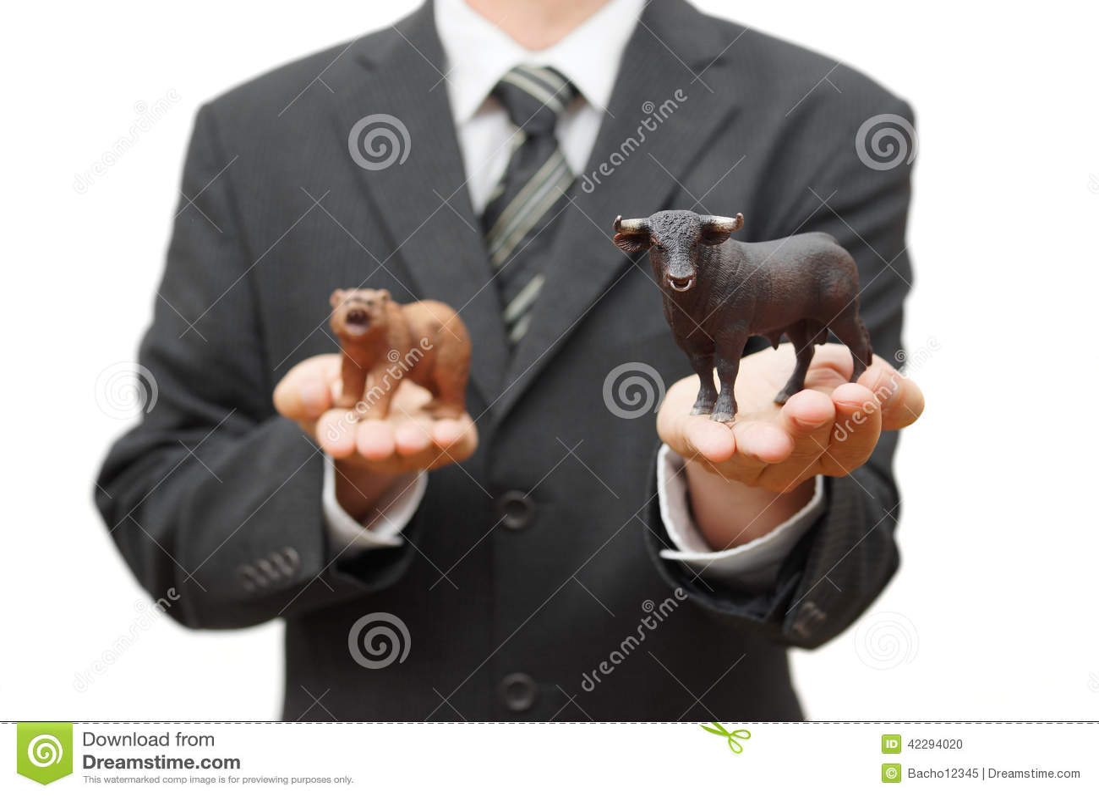 公牛股市的概念 在证券交易所的正面趋向