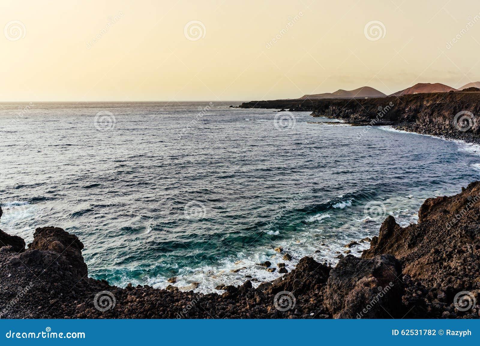 兰萨罗特岛海滩