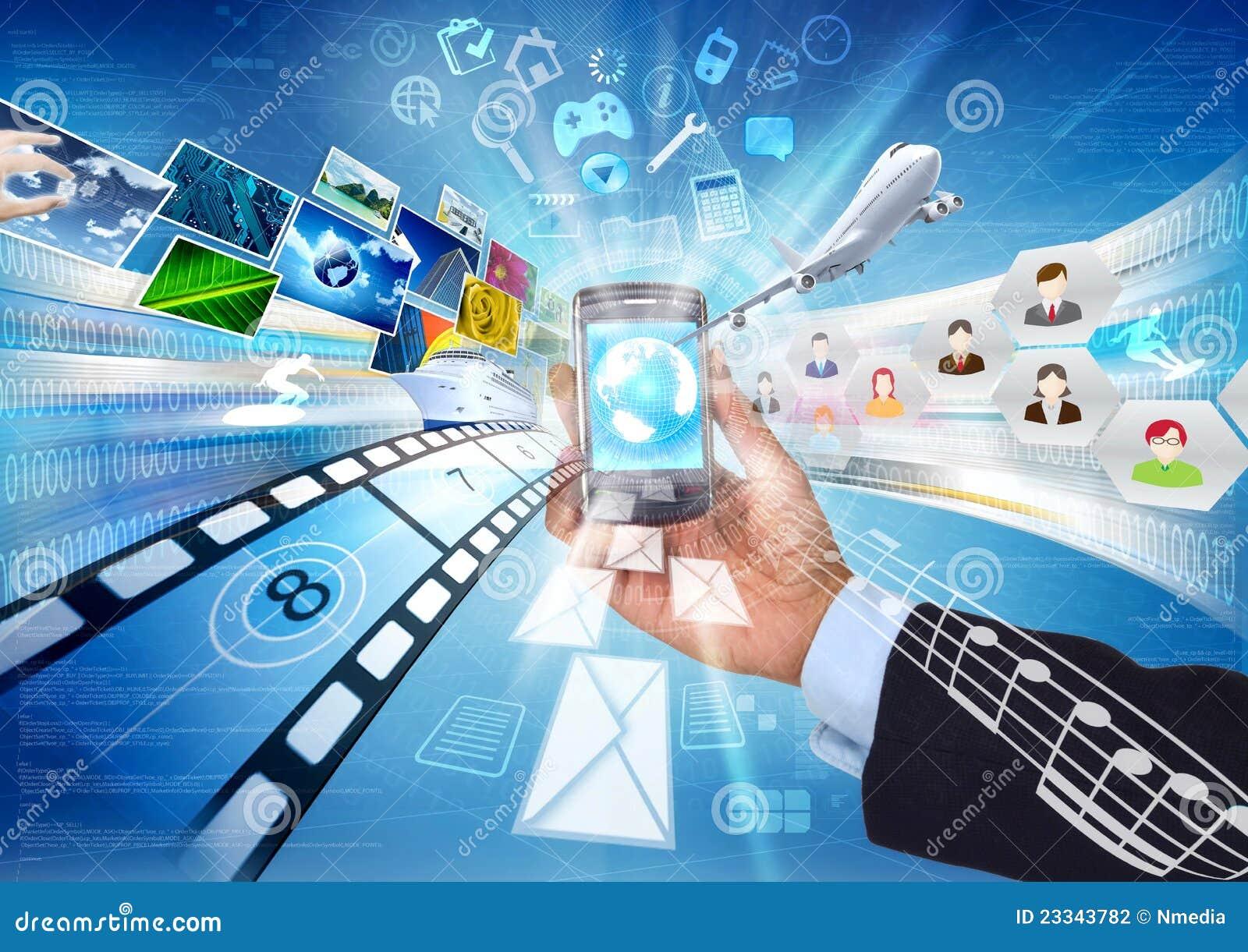 共享smartphone的多媒体