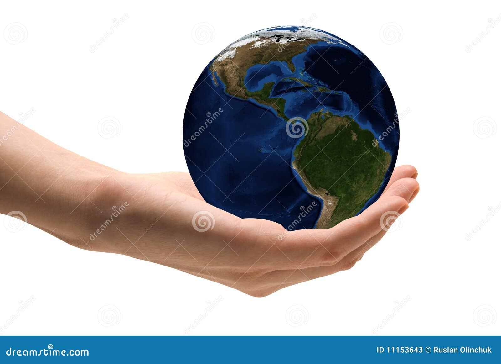 关心地球作为