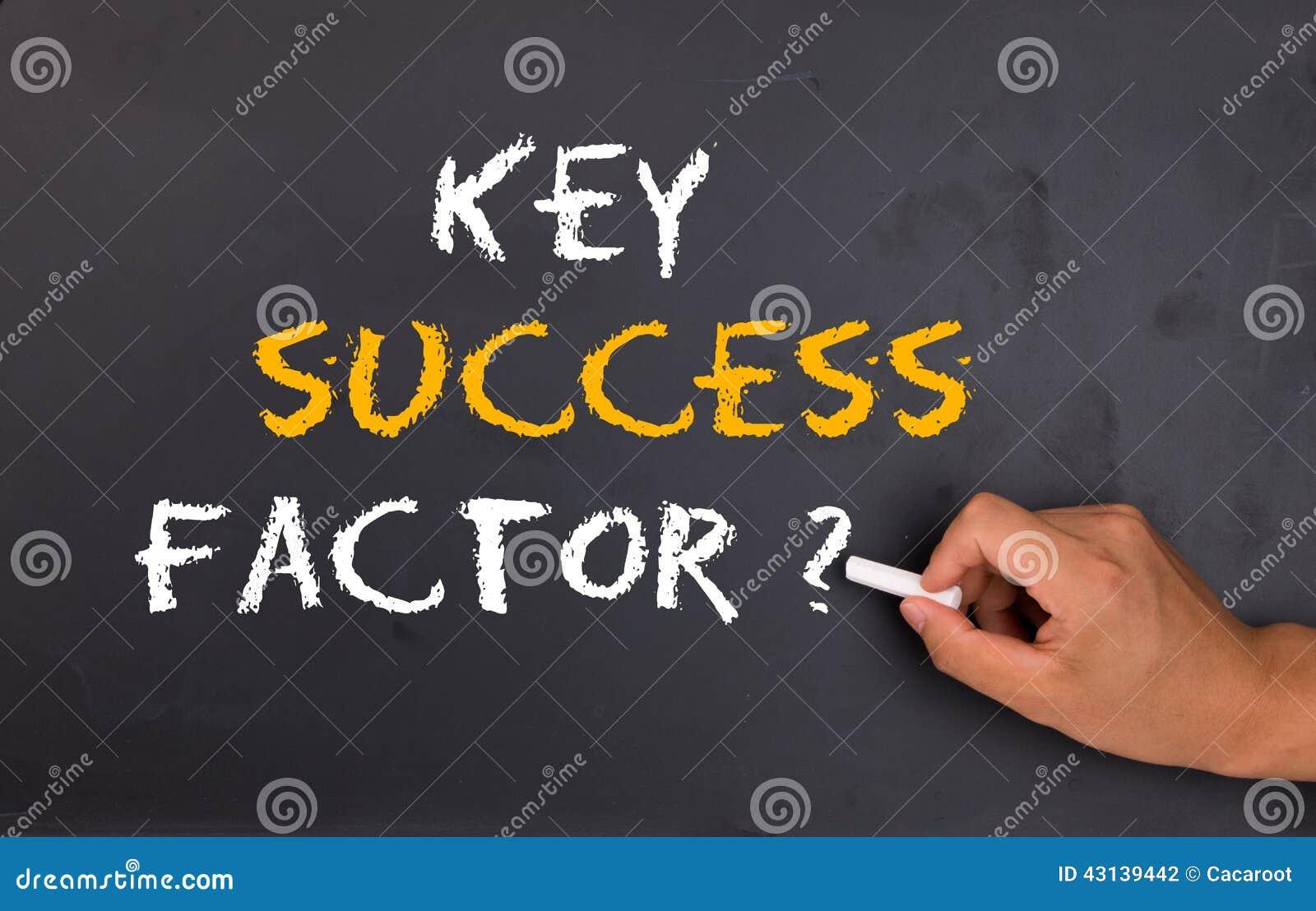 关键成功因素