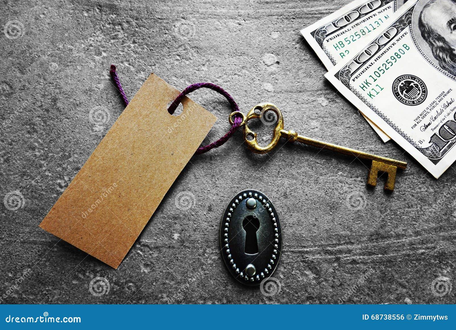 关键标记和现金