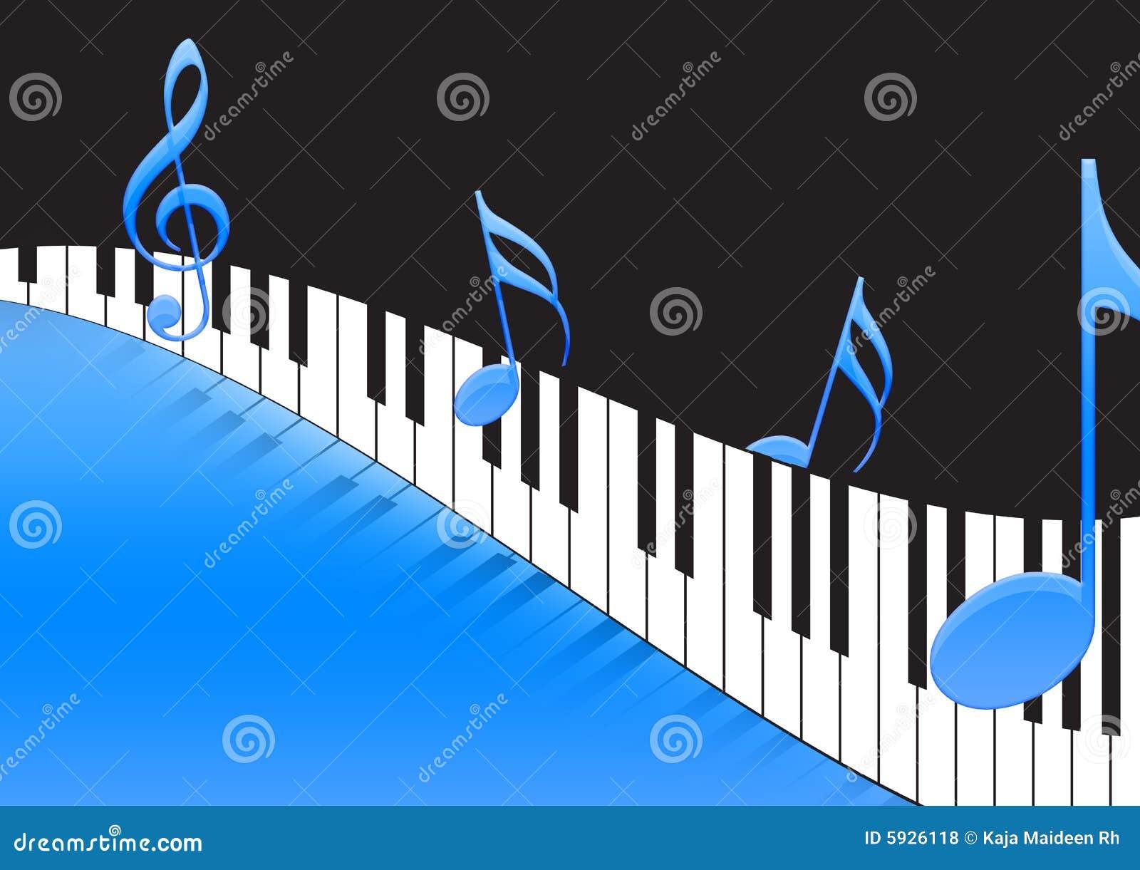 关键董事会音乐注意钢琴