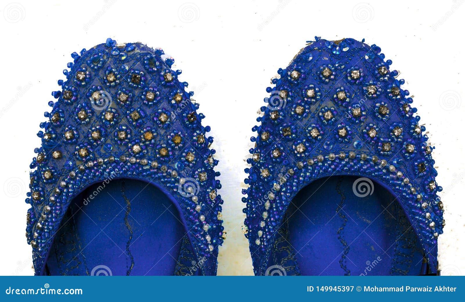 关闭印度,巴基斯坦khussa,婚姻鞋子