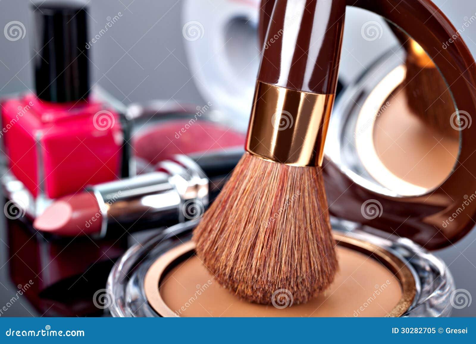 各种各样的化妆用品