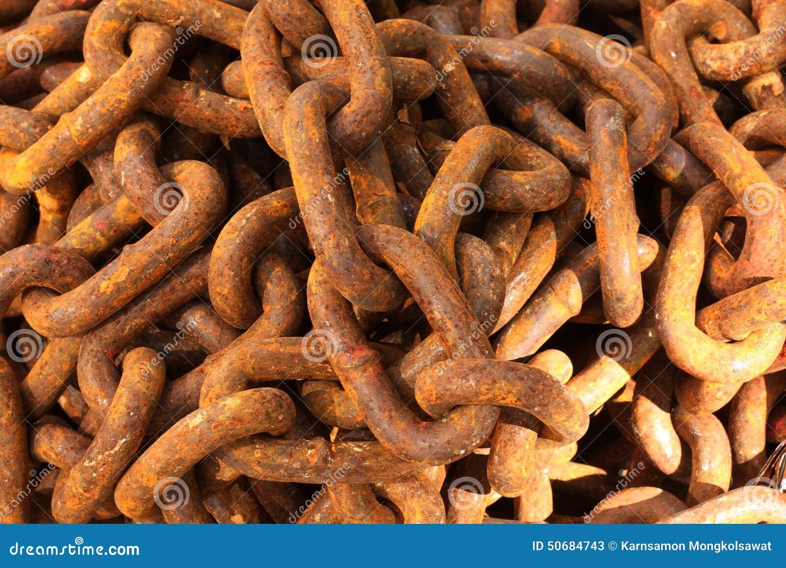 Download 关闭生锈的链堆 库存图片. 图片 包括有 详细资料, 铁锈, 年龄, 腊肠毒菌病, 连结, 提供保释金者 - 50684743