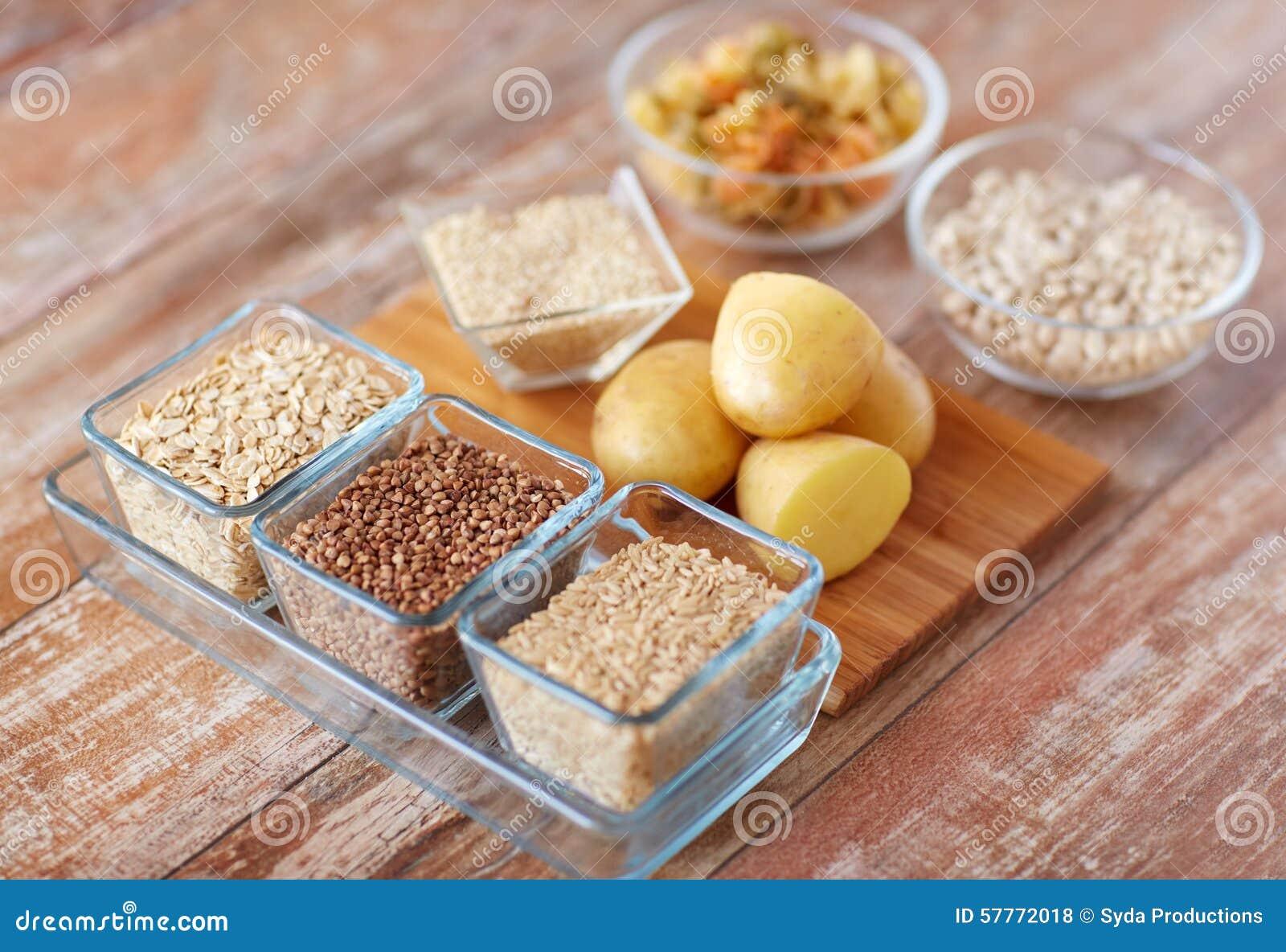 关闭碳水化合物食物