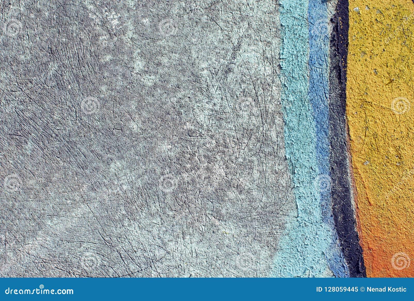 关闭膏药背景和有趣的纹理的墙壁纹理