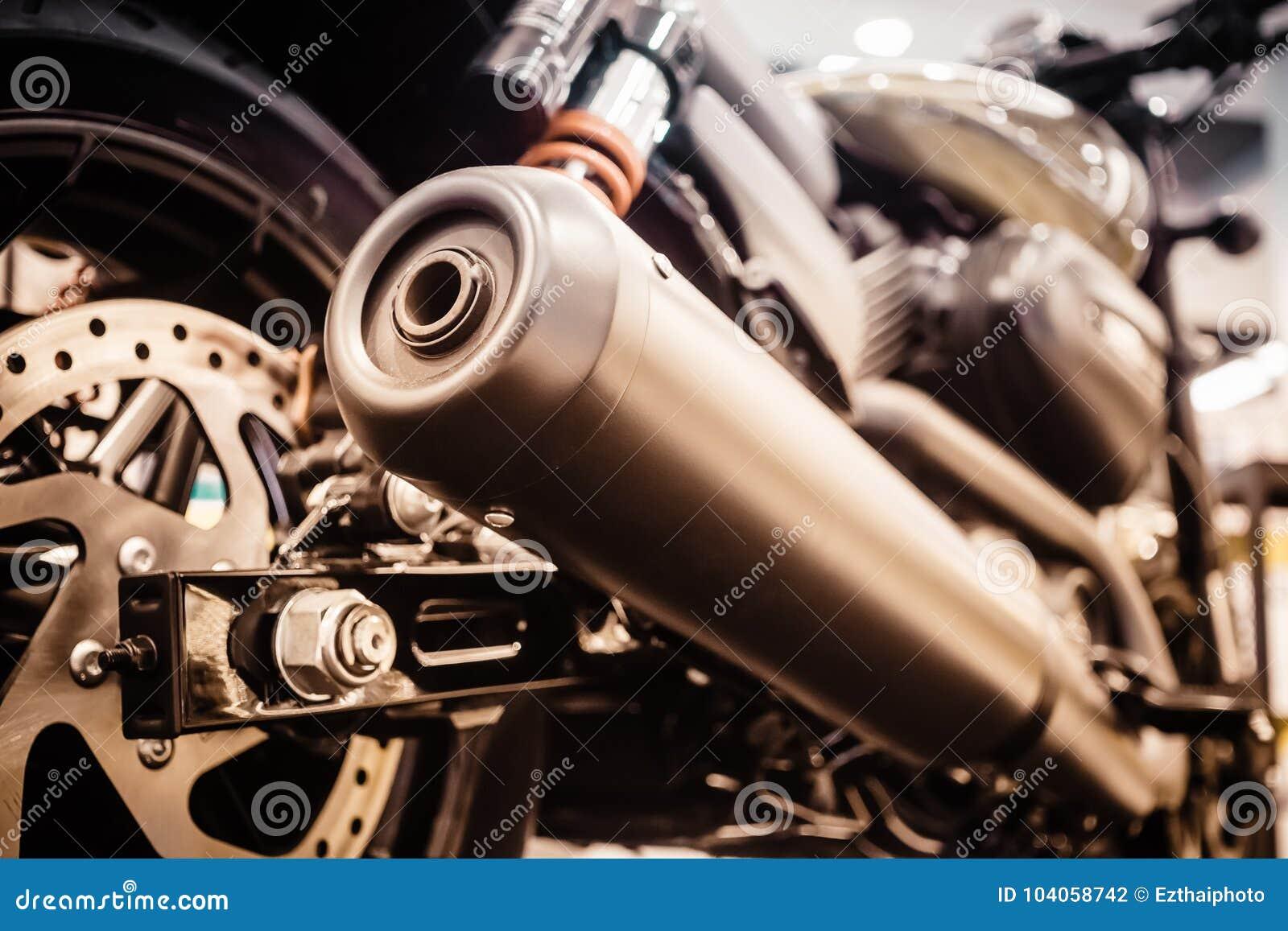 关闭赛跑摩托车尾气或入口  低角度酸碱度