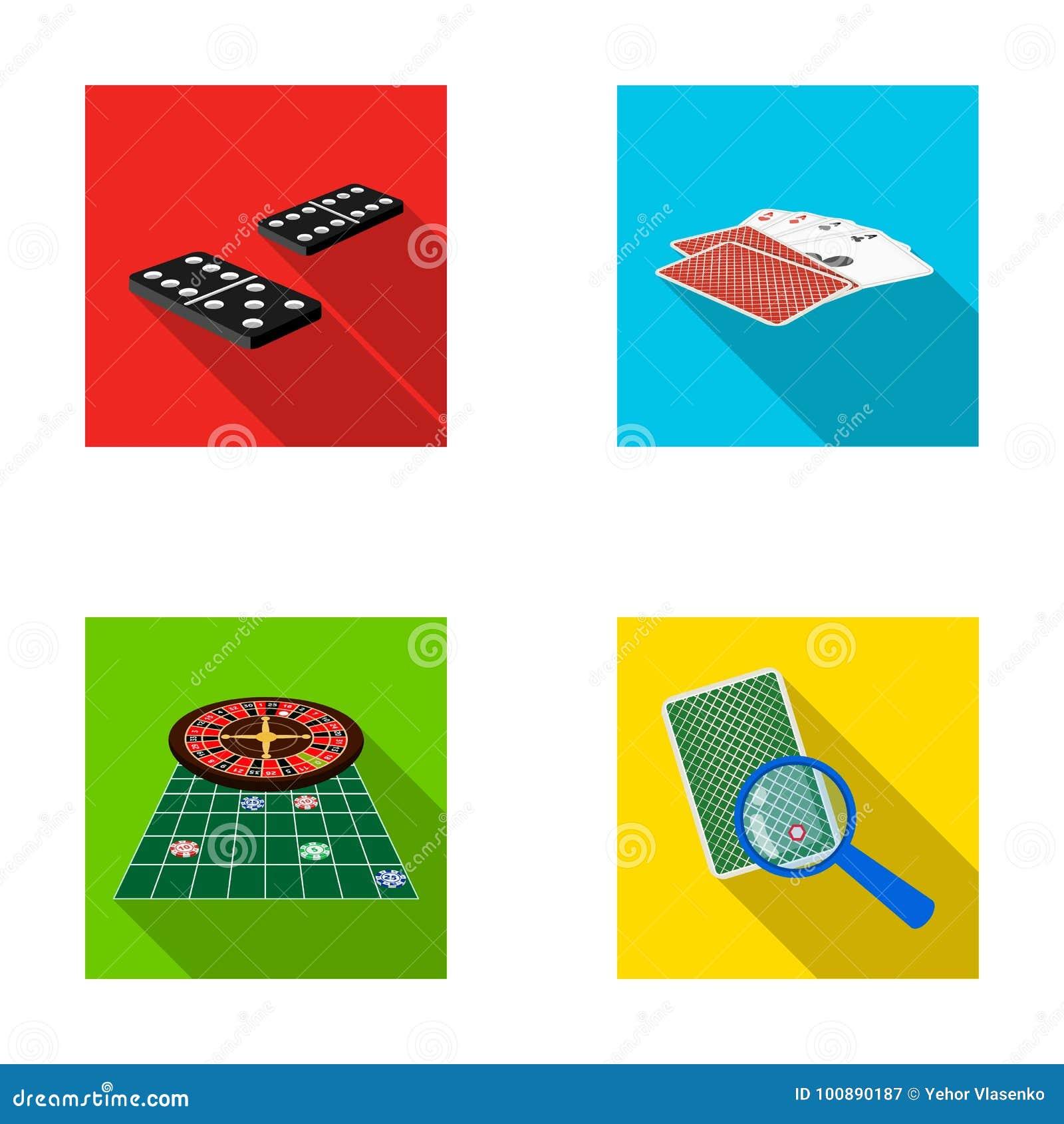 兴奋、赌博娱乐场、比赛和其他网象在平的样式放大器,欺诈,娱乐,象在集合汇集