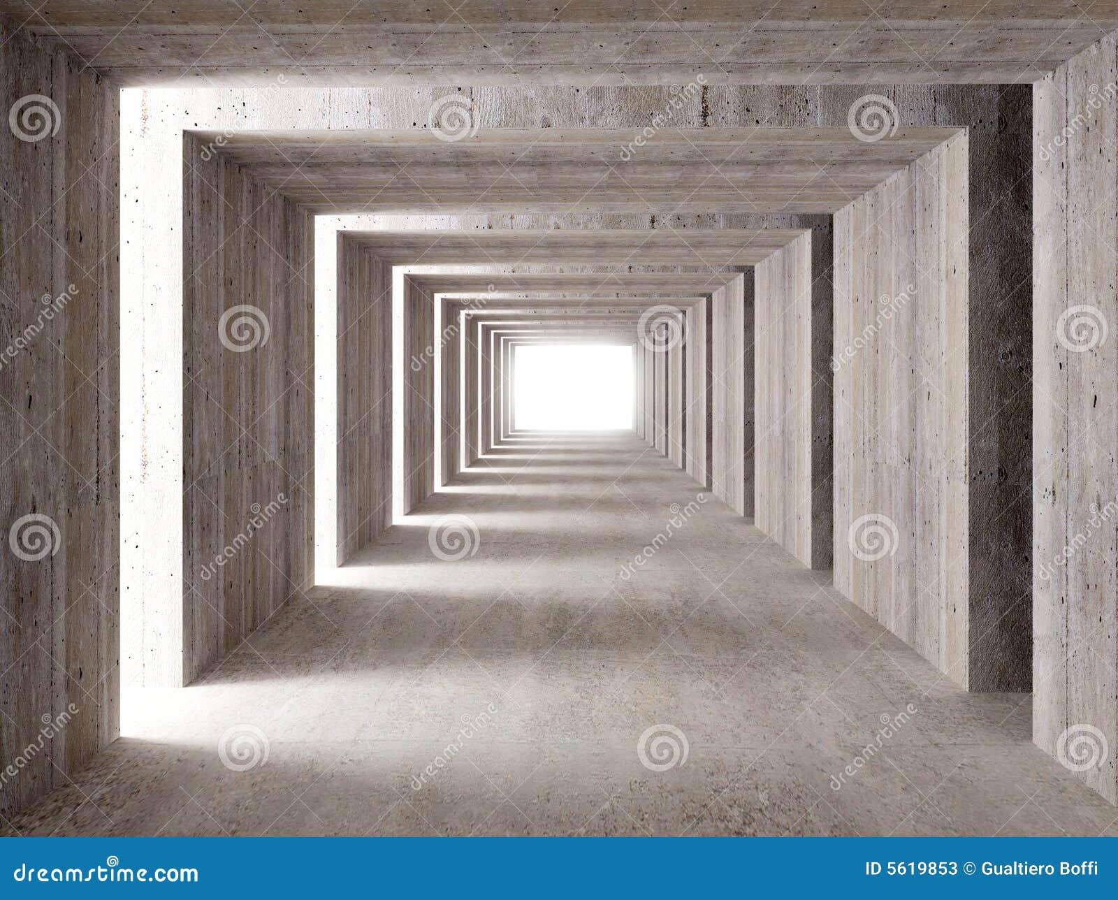 具体侧向光隧道