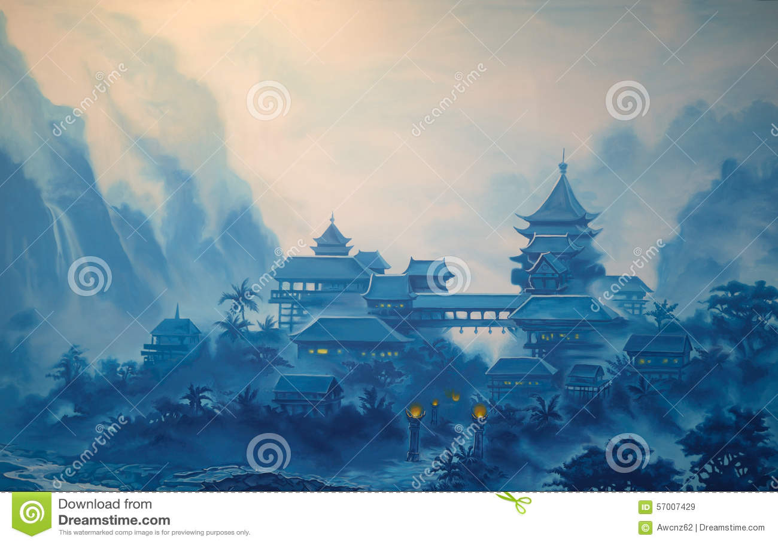 经典中国风景