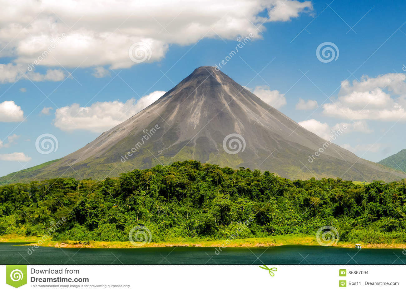 典型的休眠火山