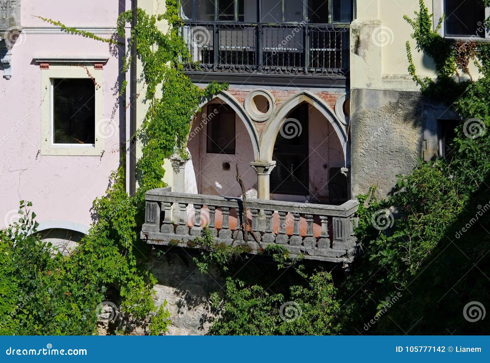 典型的阳台在意大利