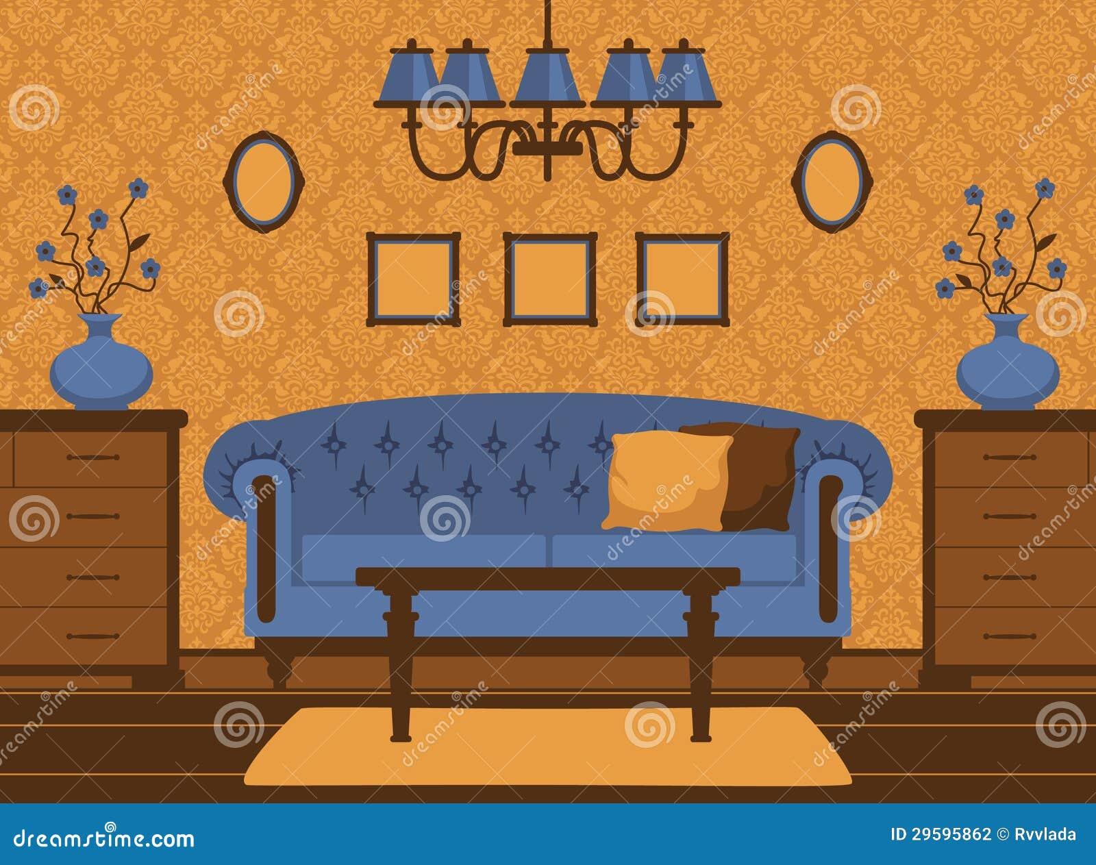 经典客厅内部