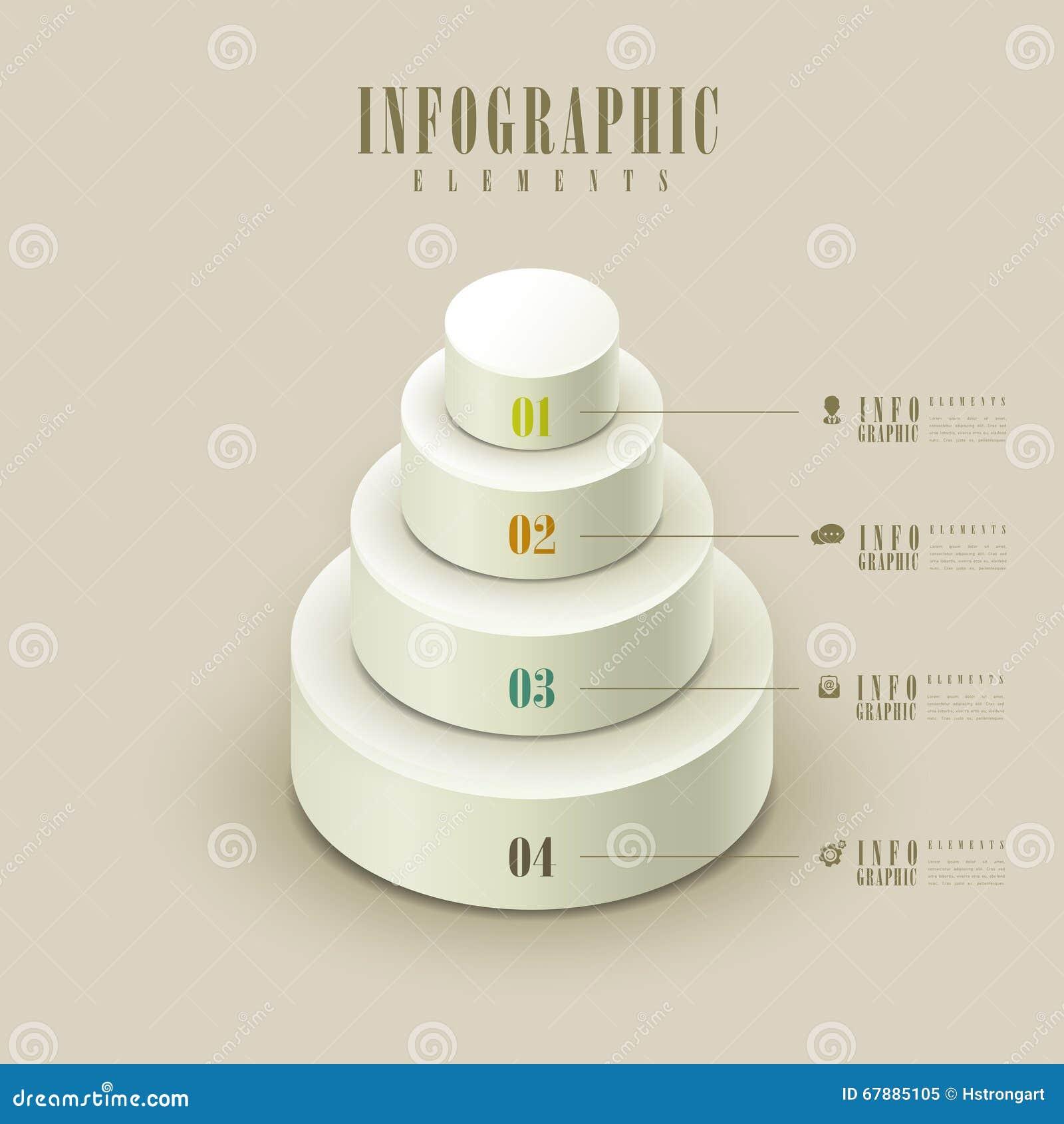 典雅的infographic模板