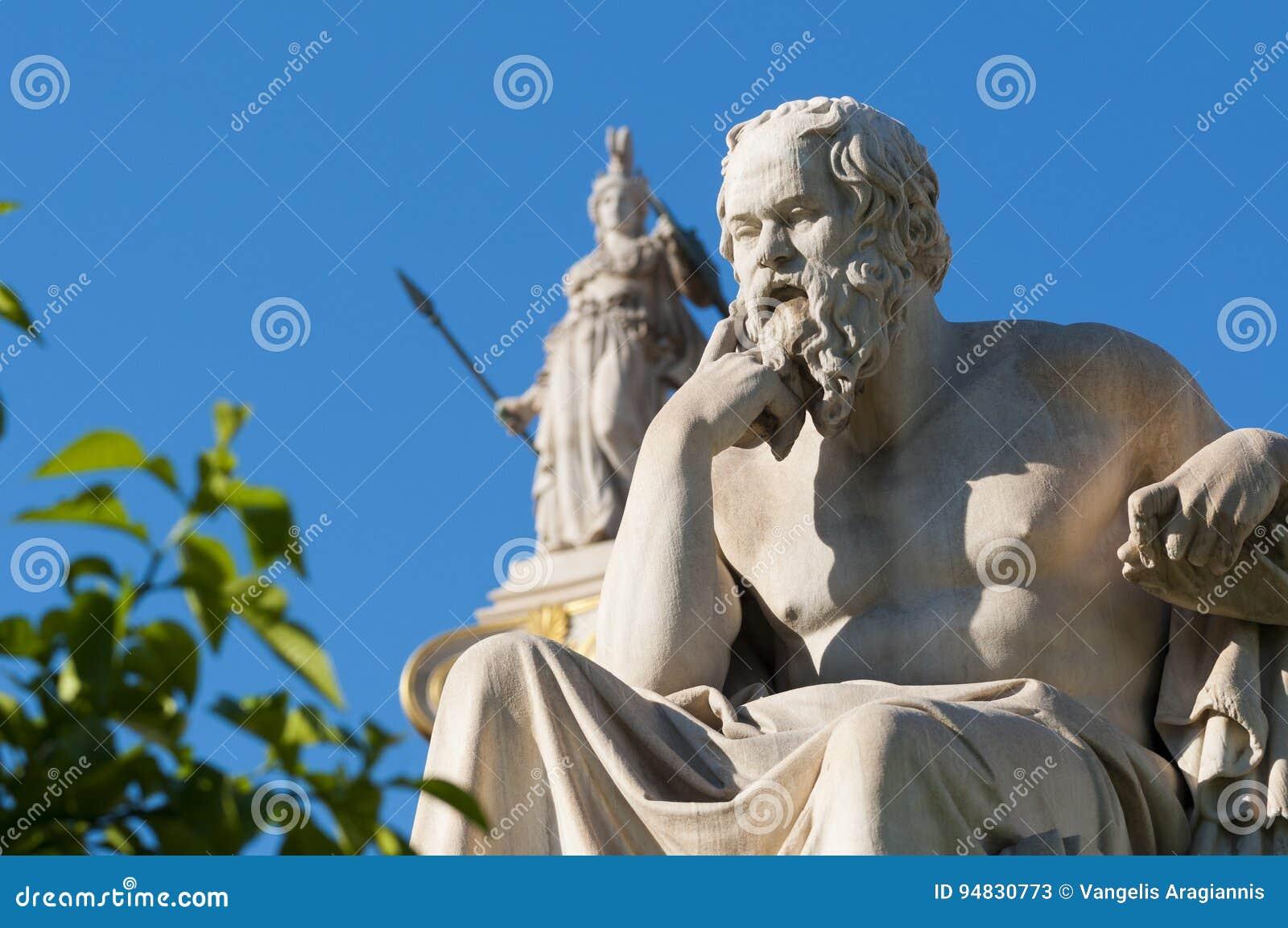经典雕象Socrates