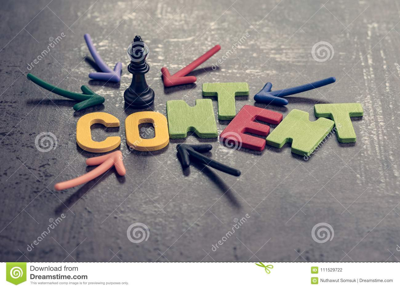 内容是广告和通信概念的, colorf国王