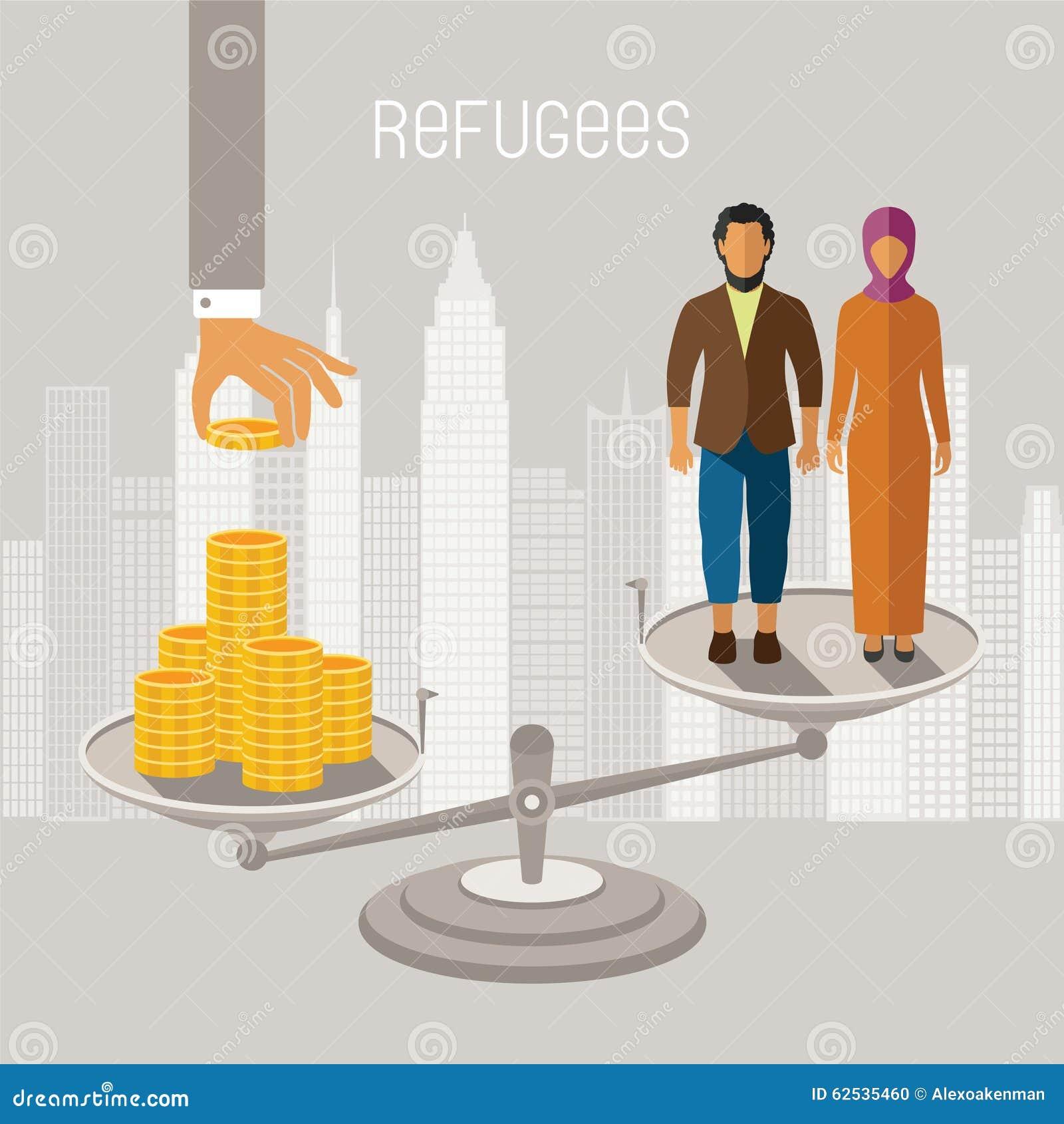 内战难民传染媒介infographics 从冲突区域的移出境者