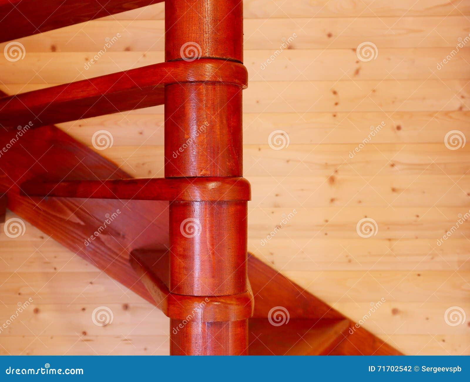 从内部的螺旋台阶