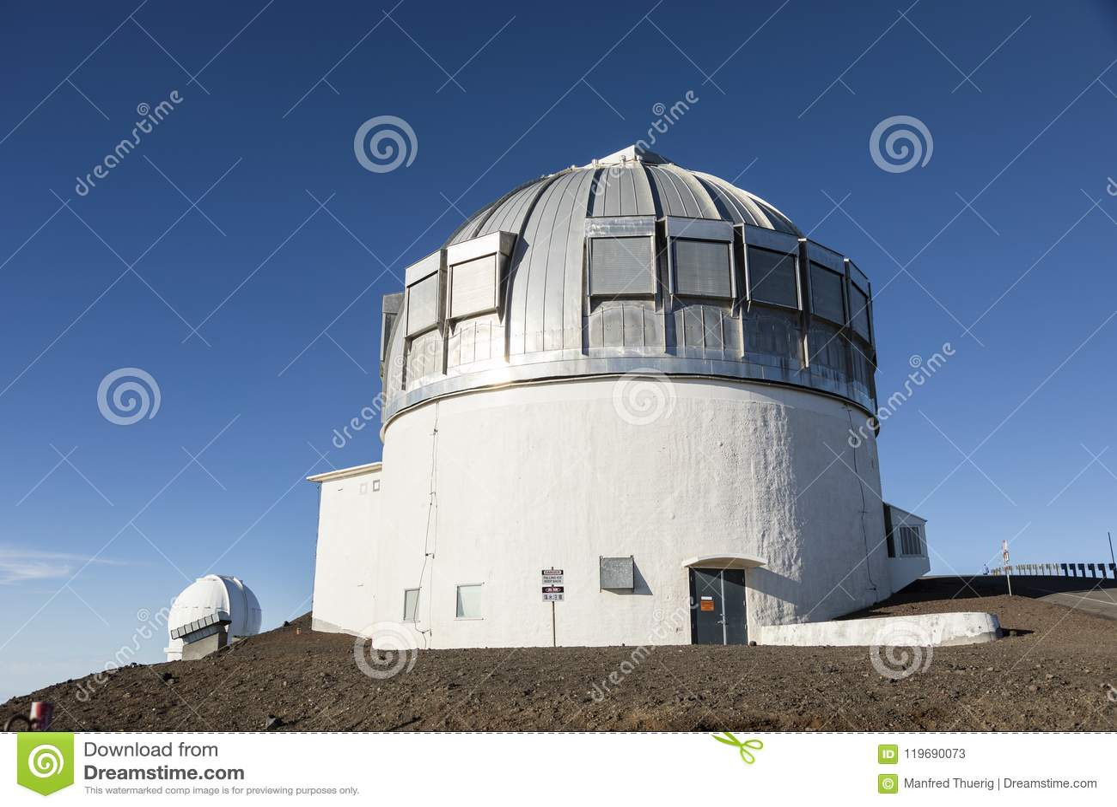 冒纳凯阿火山英国红外望远镜UKIRT,大岛