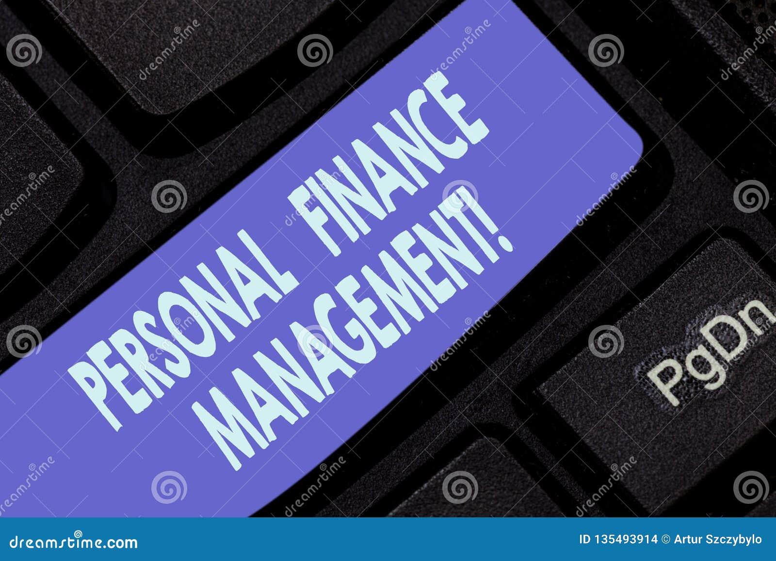 写个人理财管理的手写文本 概念意思analysisaging的收入、费用和投资