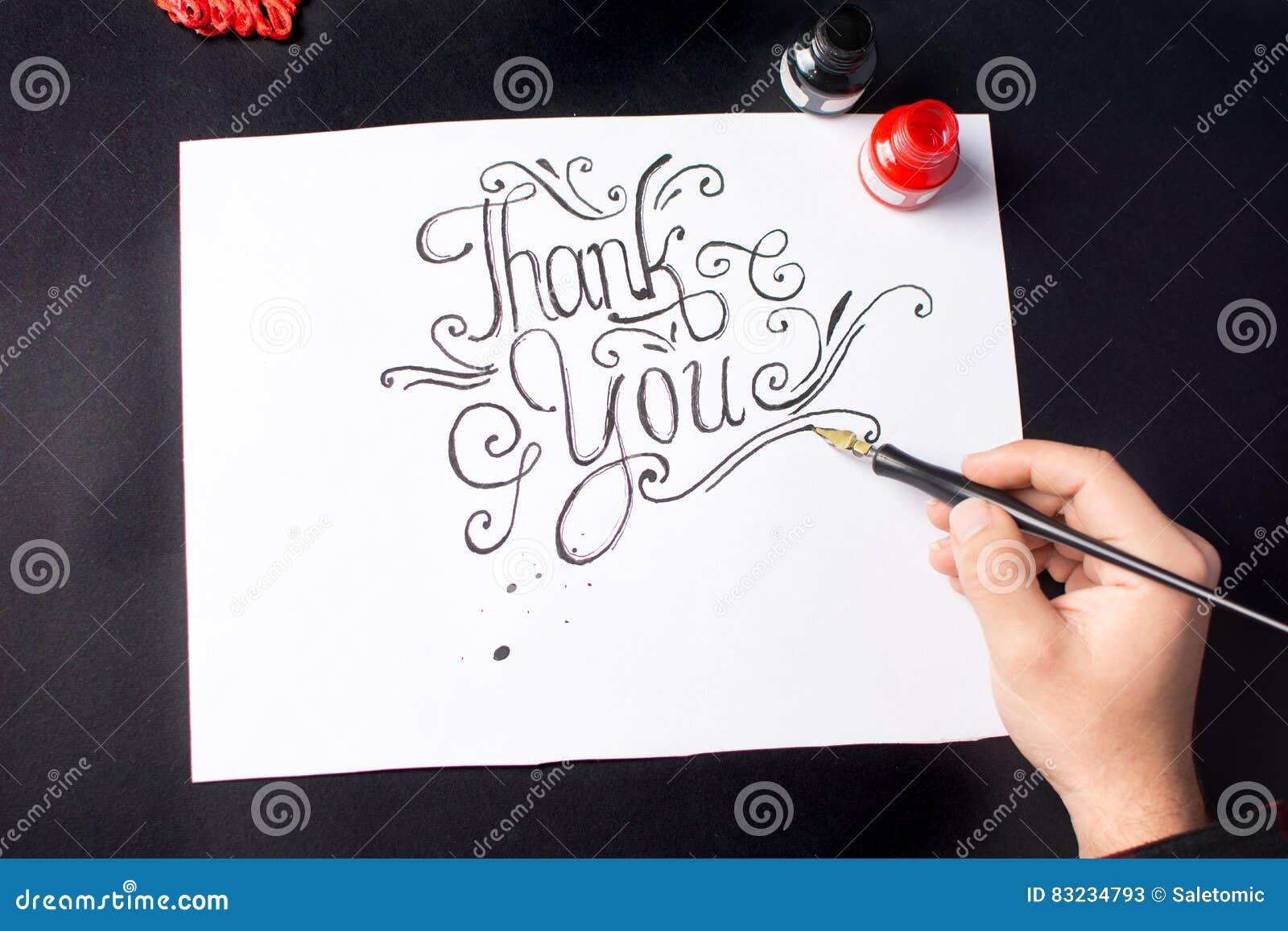 写感谢您的人注意