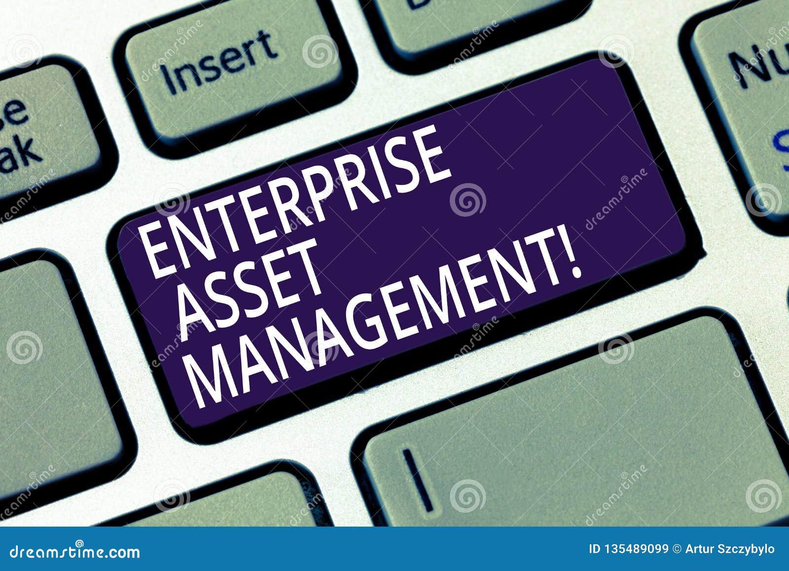 写文本企业财产管理的词 analysisaging的实物资产的生命周期企业概念