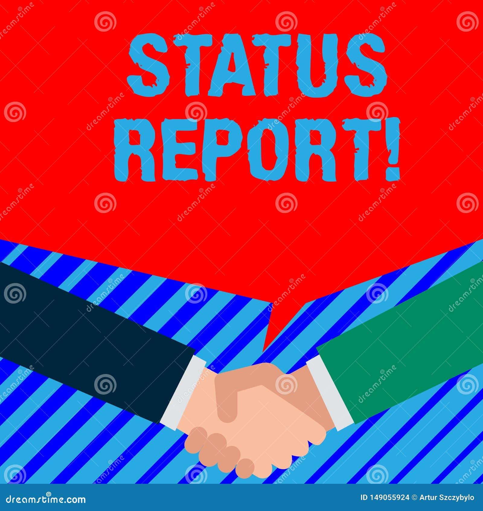 写文本情况报告的词 关系某事的情况的文件的企业概念例如估计两