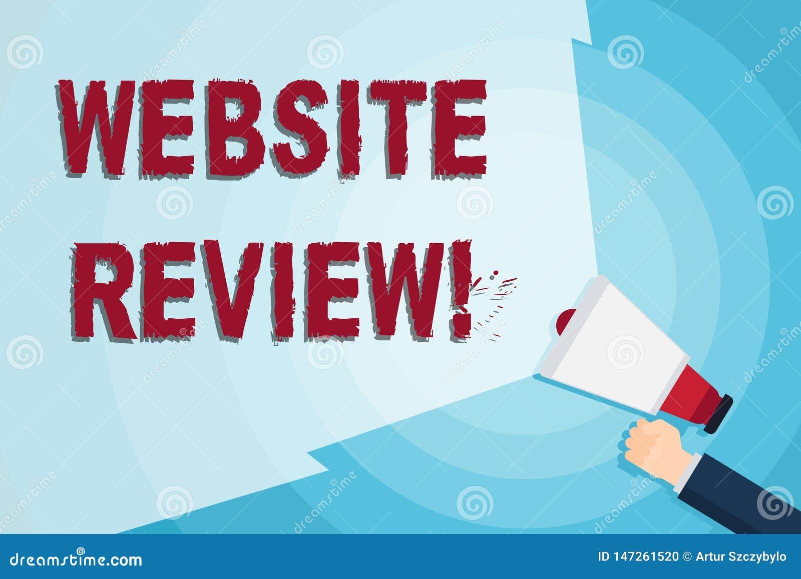 写文本网站回顾的词 对企业或服务的用户额定值和评估的企业概念